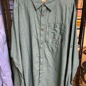 Merrell Shirts - Deep green hiking shirt
